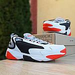 Мужские кроссовки SUPO (бело-оранжевые), фото 4