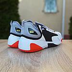 Мужские кроссовки SUPO (бело-оранжевые), фото 7