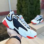Мужские кроссовки SUPO (бело-оранжевые), фото 8