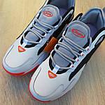 Мужские кроссовки SUPO (бело-оранжевые), фото 9