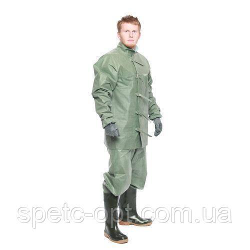 Шахтерский костюм резиновый, костюм шахтера прорезиненый
