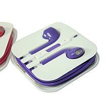 Наушники Apple EarPods с пультом дистанционного управления и микрофоном (цветные) арт.1056