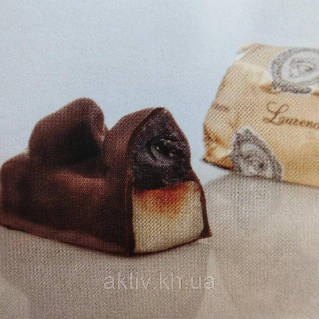 Греческие шоколадные конфеты laurence Марципан дикая вишня