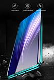 Магнітний метал чохол FULL GLASS 360° для Xiaomi Redmi Note 8T /, фото 6