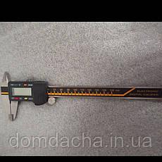 Штангенциркуль KRAFTOOL электронный металлический, 150мм, фото 2