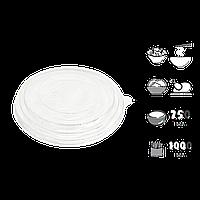 Крышка КР15 для салатника 750мл/1000мл 1уп/50шт (1ящ/300шт)