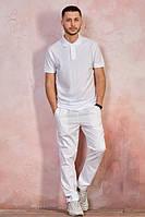 Мужская футболка-поло JHK POLO REGULAR MAN цвет белый