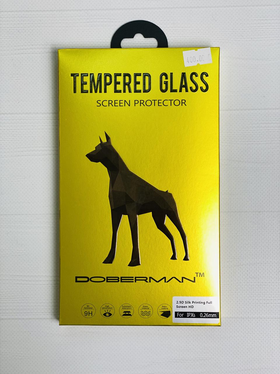 Защитное стекло Doberman для iPhone X/XS
