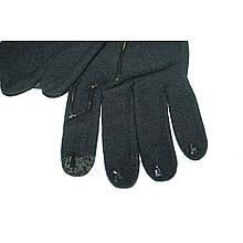 Перчатки для сенсорного экрана Decathlon (разные размеры) черные арт.1374