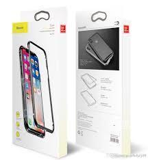 Чехол магнитный Baseus magnetite hardware case Iphone X (Silver)