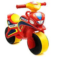 Байк Полиция красно-желтый Фламинго, без музыки - 218792
