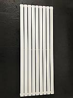 Вертикальный дизайнерский радиатор отопления ТМ ARTTIDESIGN «Livorno 9/1800» Цвет белый матовый.