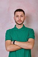 Мужская футболка-поло JHK POLO REGULAR MAN цвет зеленый (KG), фото 4