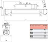 Електронагрівач Elecro Flow Line T39B (Titan / Titan) 9 кВт, 400 В, фото 5