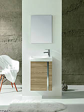 Комплект Тумба с раковиной + зеркало ROYO Elegance 122913