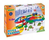 """Игровой набор """"Гараж с дорогой Kid Cars 3D"""" Wader (53130)"""
