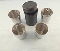 Набор металлических стаканчиков (4х180 грамм) в чехле