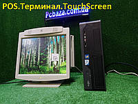 "POS Торговый терминал Fujitsu\4 ядра\4gb\ + 15"" Touchscreen, фото 1"