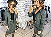 """Стильний жіночий костюм-двійка спідниця+піджак """"Tulsa"""", фото 3"""