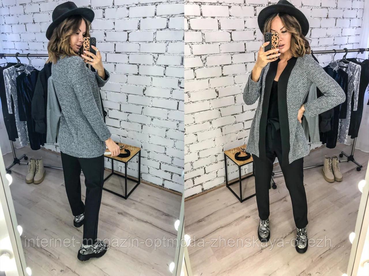 """Модный женский трикотажный пиджак """"Vancouver"""""""