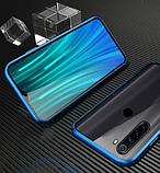 Магнітний метал чохол FULL GLASS 360° для Xiaomi Redmi Note 8T /, фото 10