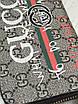Коричневый кошелек Gucci   Бумажник мужской женский фирмы Gucci   Портмоне на змейке Gucci бежевого цвета, фото 4