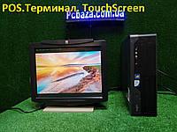 "POS Торговый терминал Fujitsu\4 ядра\4gb\ + 15"" Touchscreen, фото 1"