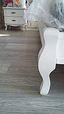 Кровать Ариэль 0,9 м. (изголовье - Н 820) (цвет белый), фото 2