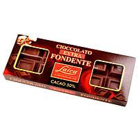 Черный шоколад Laica Cioccolato Extra Fondente без консервантов 500г Италия
