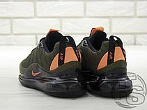 """Чоловічі кросівки Nike Air Max 720-818 """"Flight Jacket"""" Cargo Khaki Orange CI3871 300, фото 3"""