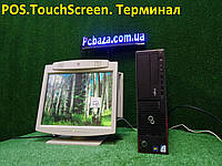 """POS Торговый терминал Fujitsu E700\ Core i3 \4gb\160GB + 15"""" LG Touchscreen, фото 1"""