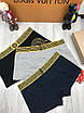 Трусы мужские Versace | Набор мужских боксеров Версаче | Трусы-шорты мужские Версаче с логотипом в коробке, фото 7