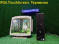 "POS Торговый терминал Fujitsu E700\4gb\160GB + 15"" LG Touchscreen, фото 1"