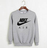 Свитшот, кофта, реглан Nike (серый ), Реплика