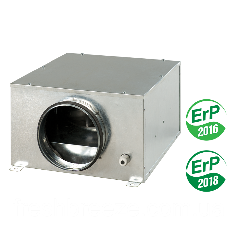 Компактный центробежный вентилятор в звукоизолированном и теплоизолированном корпусе вентс vents  КСБ 100 У