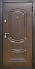 Двері Новобуд - Б7 (горіх лісовий)