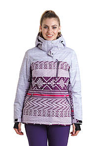 Женская горнолыжная куртка AZIMUTH баклажан 50 р.