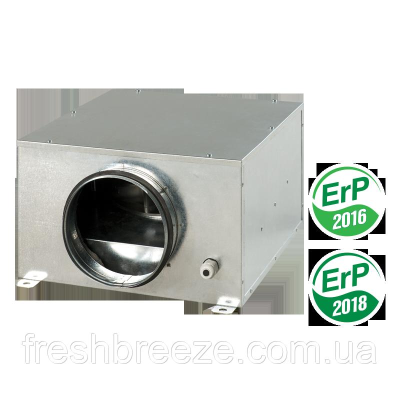 Компактный центробежный вентилятор в звукоизолированном и теплоизолированном корпусе вентс vents  КСБ 100 Ун
