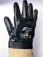 Перчатки резиновые МБС NITRAS, перчатки маслостойкие, перчатки бензостойкие, перчатки МБС жесткий манженжет.