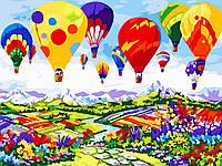 Художественный творческий набор, картина по номерам Воздушные шары, 40x30 см, «Art Story» (AS0598), фото 1