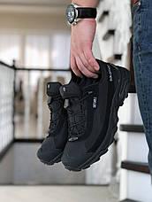 Мужские термо кроссовки Salomon Soft Shell,черные, фото 3