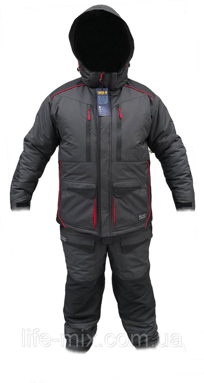 Костюм зимний Extreme -30* (серо-черный)