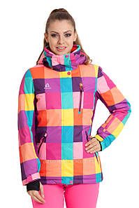 Женская горнолыжная куртка AZIMUTH радуга 46 р