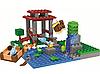 Конструктор Bela Майнкрафт 10950 My World Minecraft Рыбалка на пруду 123 детали, фото 2