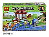 Конструктор Bela Майнкрафт 10950 My World Minecraft Рыбалка на пруду 123 детали, фото 3