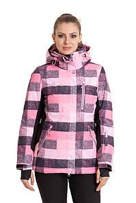 Женская горнолыжная куртка AZIMUTH розовый 48 р