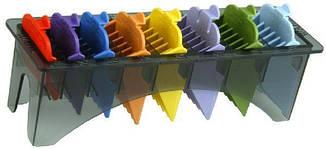 Набор насадок Wahl 8 шт, цветные 4503-7171 (03170-417), фото 2