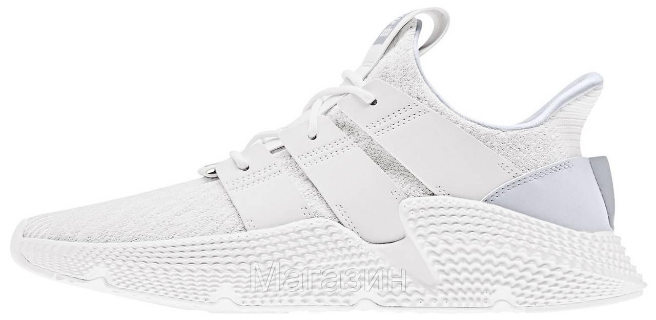 Мужские кроссовки adidas Prophere White Адидас белые