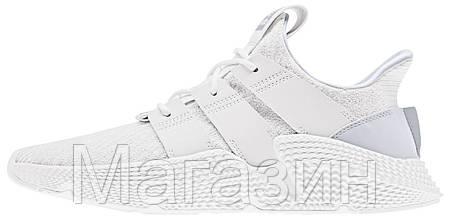 Мужские кроссовки adidas Prophere White Адидас белые, фото 2