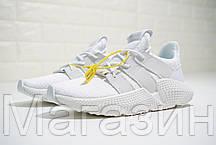 Мужские кроссовки adidas Prophere White Адидас белые, фото 3
